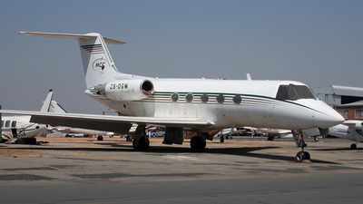 ZS-DGW - Gulfstream G-IIB - Private