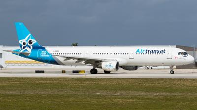 C-GEZO - Airbus A321-211 - Air Transat