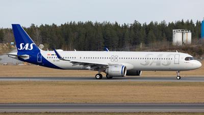 SE-DMO - Airbus A321-253NX - Scandinavian Airlines (SAS)