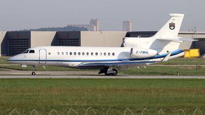 C-FMHL - Dassault Falcon 7X - Private