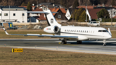 OE-IRB - Bombardier BD-700-1A10 Global Express - LaudaMotion