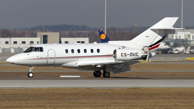 CS-DUC - Hawker Beechcraft 750 - NetJets Europe