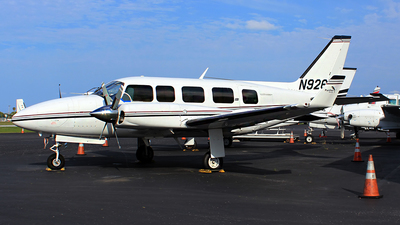 A picture of N926HB - Piper PA31350 - [317552007] - © André Du-pont  (Mexico Air Spotters)