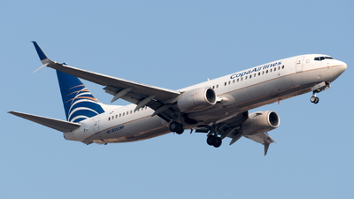 A picture of HP1852CMP - Boeing 7378V3 - Copa Airlines - © Roberto Tirado