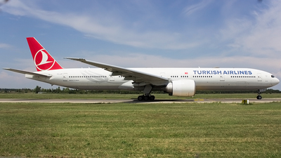 A picture of TCJJP - Boeing 7773F2(ER) - Turkish Airlines - © Mihai Cioponea