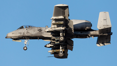 81-0942 - Fairchild A-10C Thunderbolt II - United States - US Air Force (USAF)