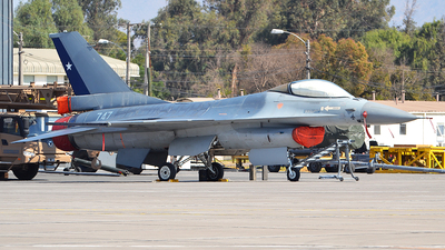 747 - General Dynamics F-16AM Fighting Falcon - Chile - Air Force