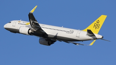 V8-RBE | Airbus A320-251N | Royal Brunei Airlines | Brandon