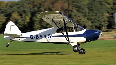 G-BSYG - Piper PA-12-125 Super Cruiser - Private