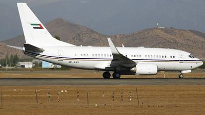 A6-RJX - Boeing 737-7AK(BBJ) - Royal Jet