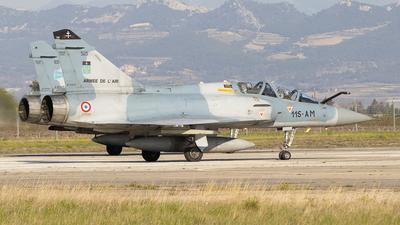 525 - Dassault Mirage 2000B - France - Air Force