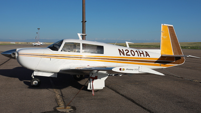 N201HA - Mooney M20J-201 - Private