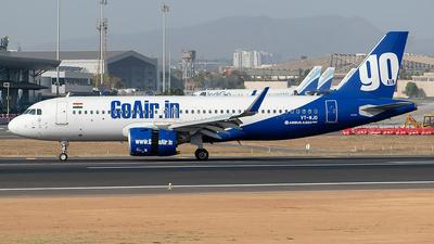 VT-WJD - Airbus A320-271N - Go Air