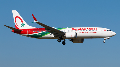 A picture of CNMAX - Boeing 737 MAX 8 - Royal Air Maroc - © Alexis Boidron