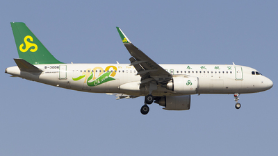 A picture of B30D6 - Airbus A320251N - Spring Airlines - © KnightHammer Aviation