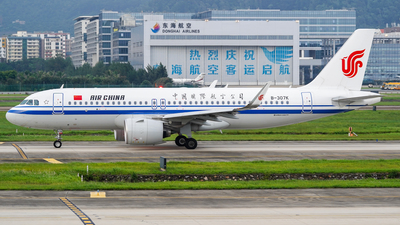 B-307K - Airbus A320-271N - Air China