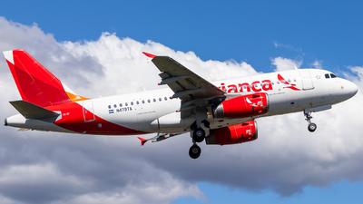 N479TA - Airbus A319-132 - Avianca Central America