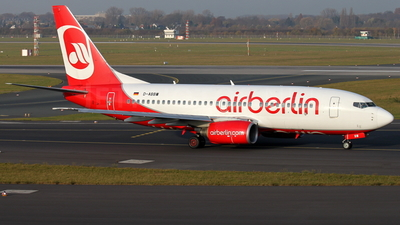 D-ABBW - Boeing 737-7Q8 - Air Berlin