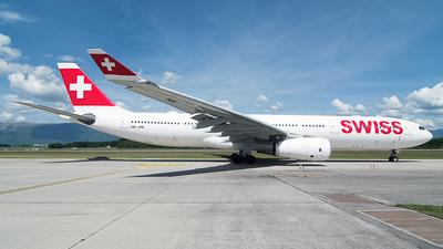 HB-JHN - Airbus A330-343 - Swiss