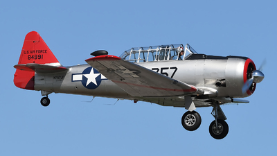 N757LF - North American AT-6D Texan - Private