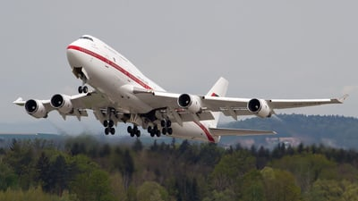 A6-UAE - Boeing 747-48E(M) - United Arab Emirates - Abu Dhabi Amiri Flight