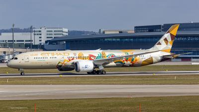 A picture of A6BLH - Boeing 7879 Dreamliner - Etihad Airways - © Roland Brei - RFotomoments