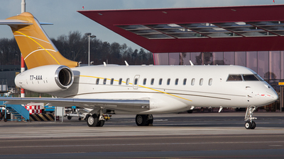 A picture of T7AAA - Bombardier Global Express - [9283] - © BaszB
