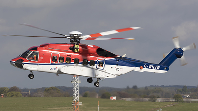 A picture of GWNSW - Sikorsky S92A Helibus - CHC Helikopter Service - © Danny Nixon