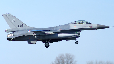 J-061 - General Dynamics F-16AM Fighting Falcon - Netherlands - Royal Air Force