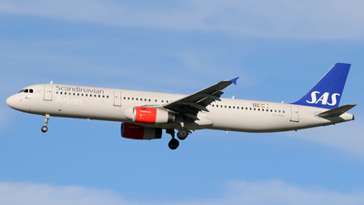OY-KBL - Airbus A321-231 - Scandinavian Airlines (SAS)