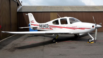 N834CD - Cirrus SR22 - Private