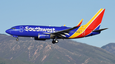 A picture of N742SW - Boeing 7377H4 - Southwest Airlines - © Michael Rodeback