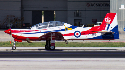 ZF269 - Short Tucano T.1 - United Kingdom - Royal Air Force (RAF)