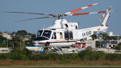 XA-EHD - Bell 412EP - Heliservicio