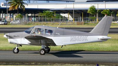 N3659K - Piper PA-28-140 Cherokee - Private