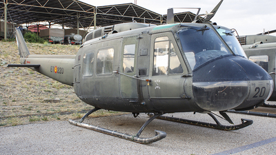 HU.10-46 - Bell UH-1H Iroquois - Spain - Army