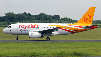RP-C9368 - Airbus A319-132 - Royal Air Charter Service