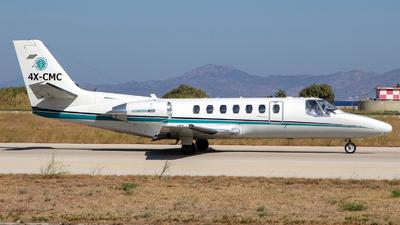 4X-CMC - Cessna 560 Citation V - Private
