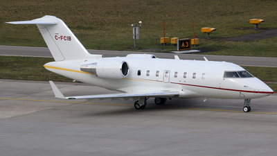 C-FCIB - Bombardier CL-600-2B16 Challenger 604 - Execaire
