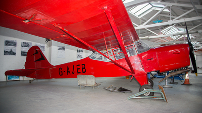 G-AJEB - Auster J1N Alpha - Private