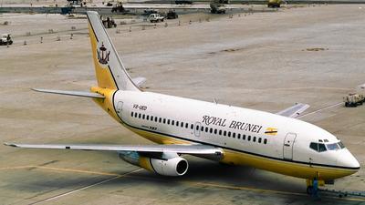 V8-UED - Boeing 737-2M6C(Adv) - Royal Brunei Airlines