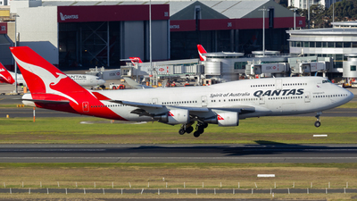 VH-OEJ - Boeing 747-438(ER) - Qantas - Flightradar24