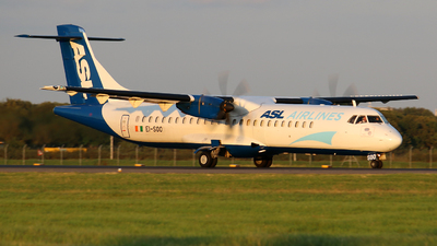 A picture of EISOO - ATR 72500(F) - ASL Airlines Ireland - © Nathan McRither