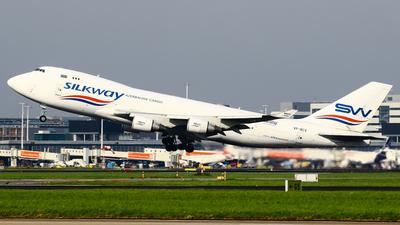 VP-BCV - Boeing 747-4H6F(SCD) - Silk Way West Airlines
