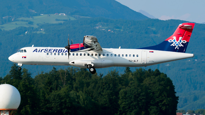 A picture of YUALT - ATR 72500 - AirSERBIA - © Jure Grah
