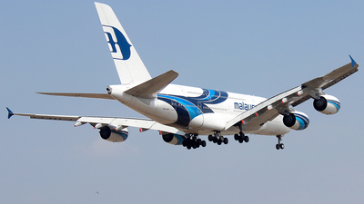 9M-MNE - Airbus A380-841 - Malaysia Airlines