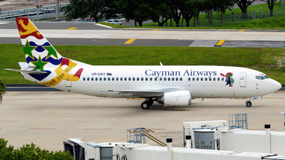 VP-CKY - Boeing 737-3Q8 - Cayman Airways