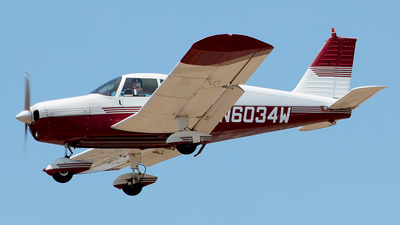 N6034W - Piper PA-28-140 Cherokee - Private