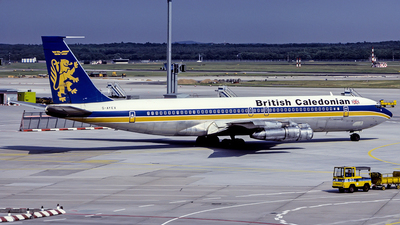 G-AYEX - Boeing 707-355C - British Caledonian Airways