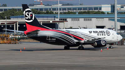 B-2985 - Boeing 737-3W0(SF) - SF Airlines